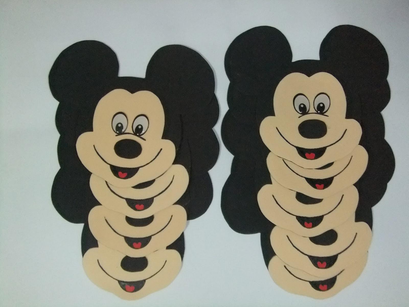 Caritas Mickey y Minnie | CREACIONES FATYNATY
