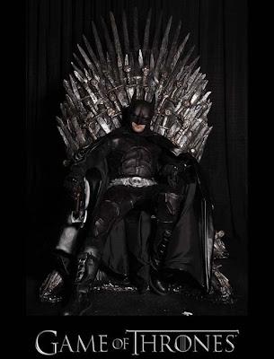 Batman trono de hierro - Juego de Tronos en los siete reinos