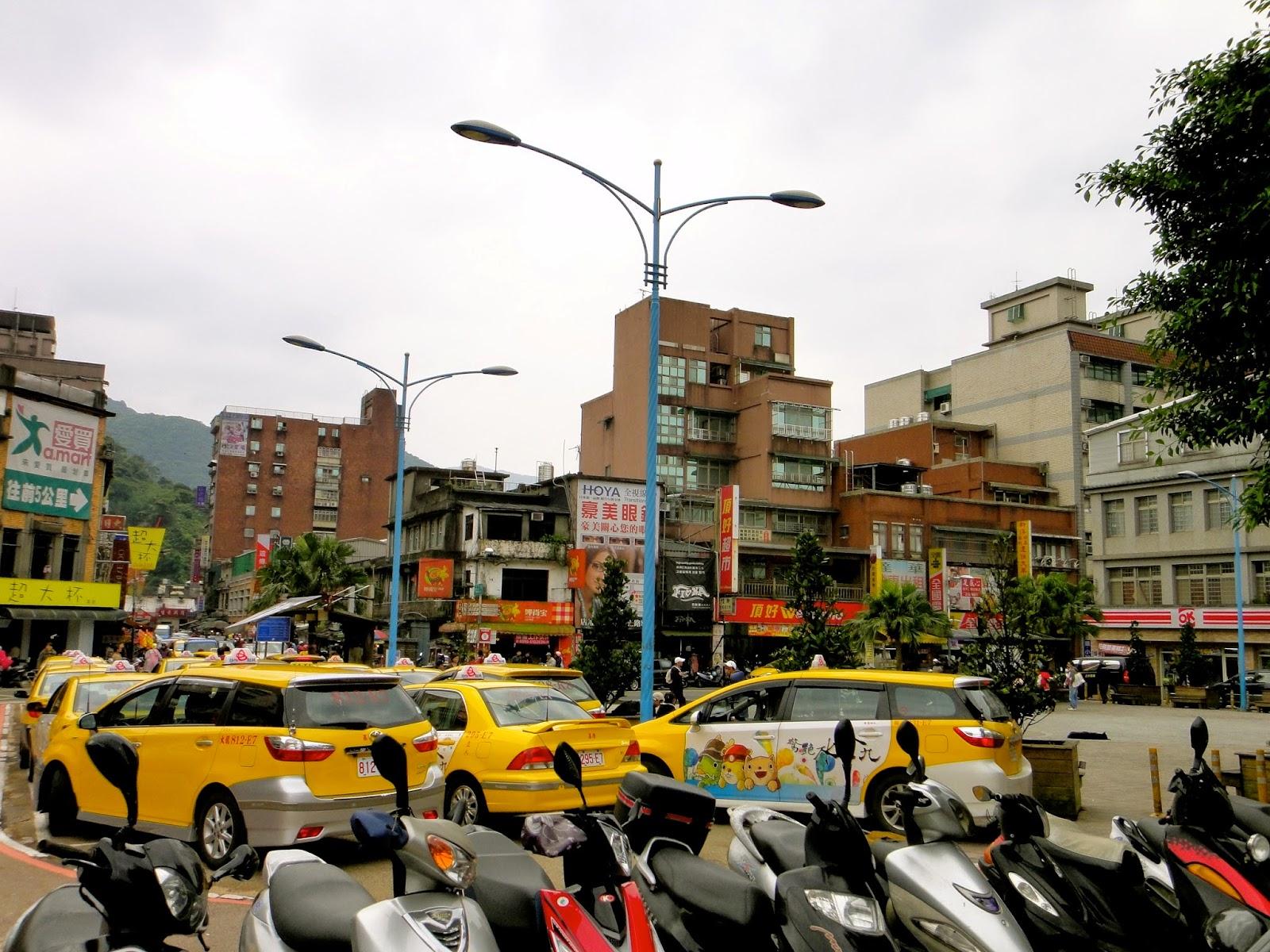 Ruifang Station Taxis Taiwan