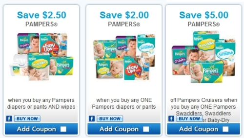 Printable coupons for pampers canada
