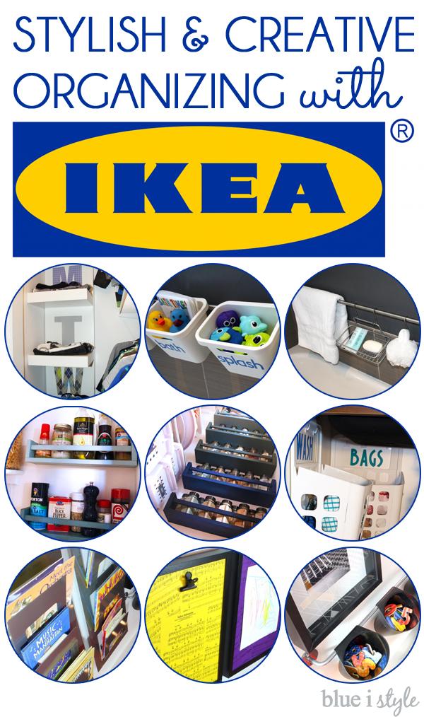 Stylish and creative organizing with IKEA