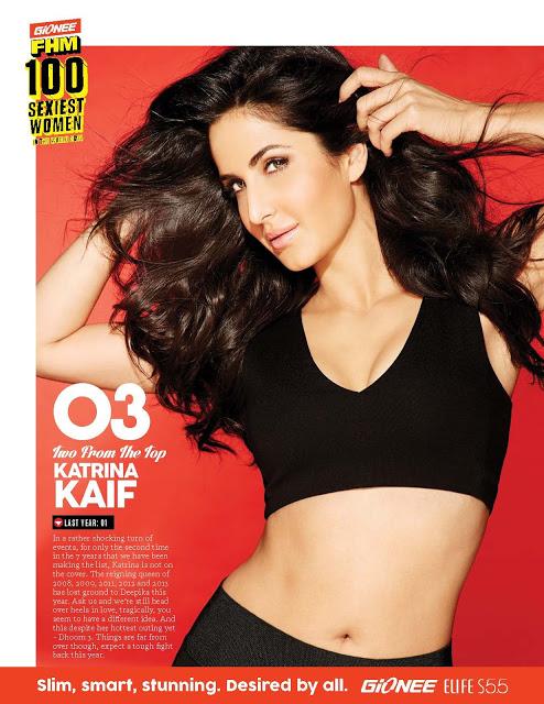 Katrina Kaif FHM super hot magazine scans