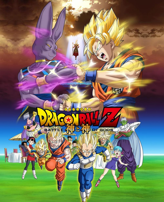 Dragon Ball Z: La batalla de los dioses Audio Latino