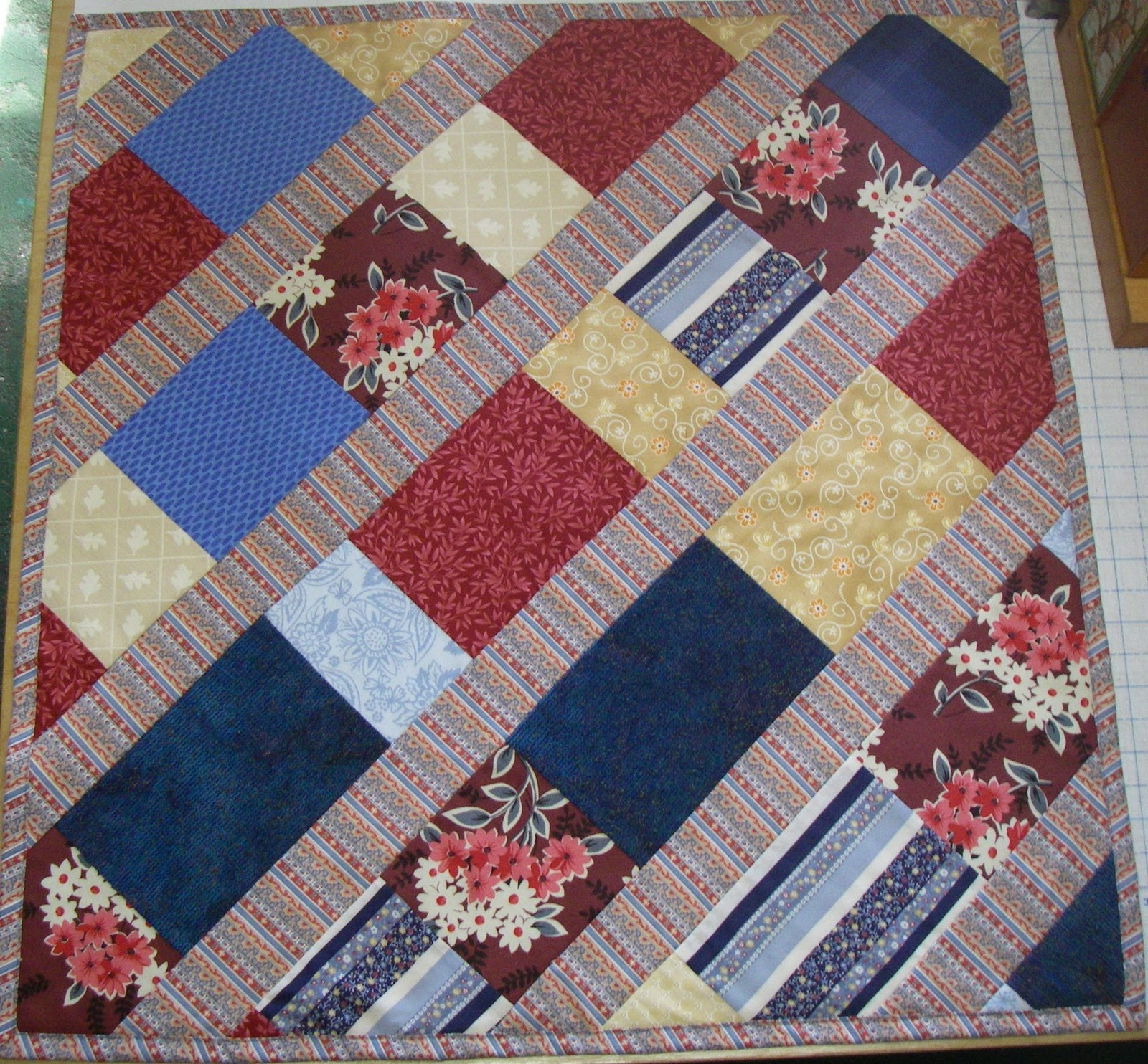Super Easy Beginner Quilt Patterns : Cat Song Stitchery: Really Easy Quilt Pattern