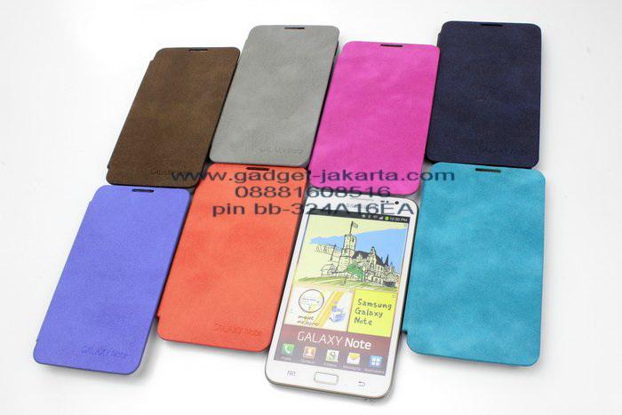 Flip Cover Samsung Galaxy Note N7000 Back Door