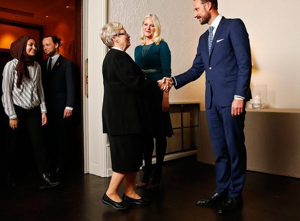 Princess Mette-Marit And Prince Haakon Held A dinner At Skaugum