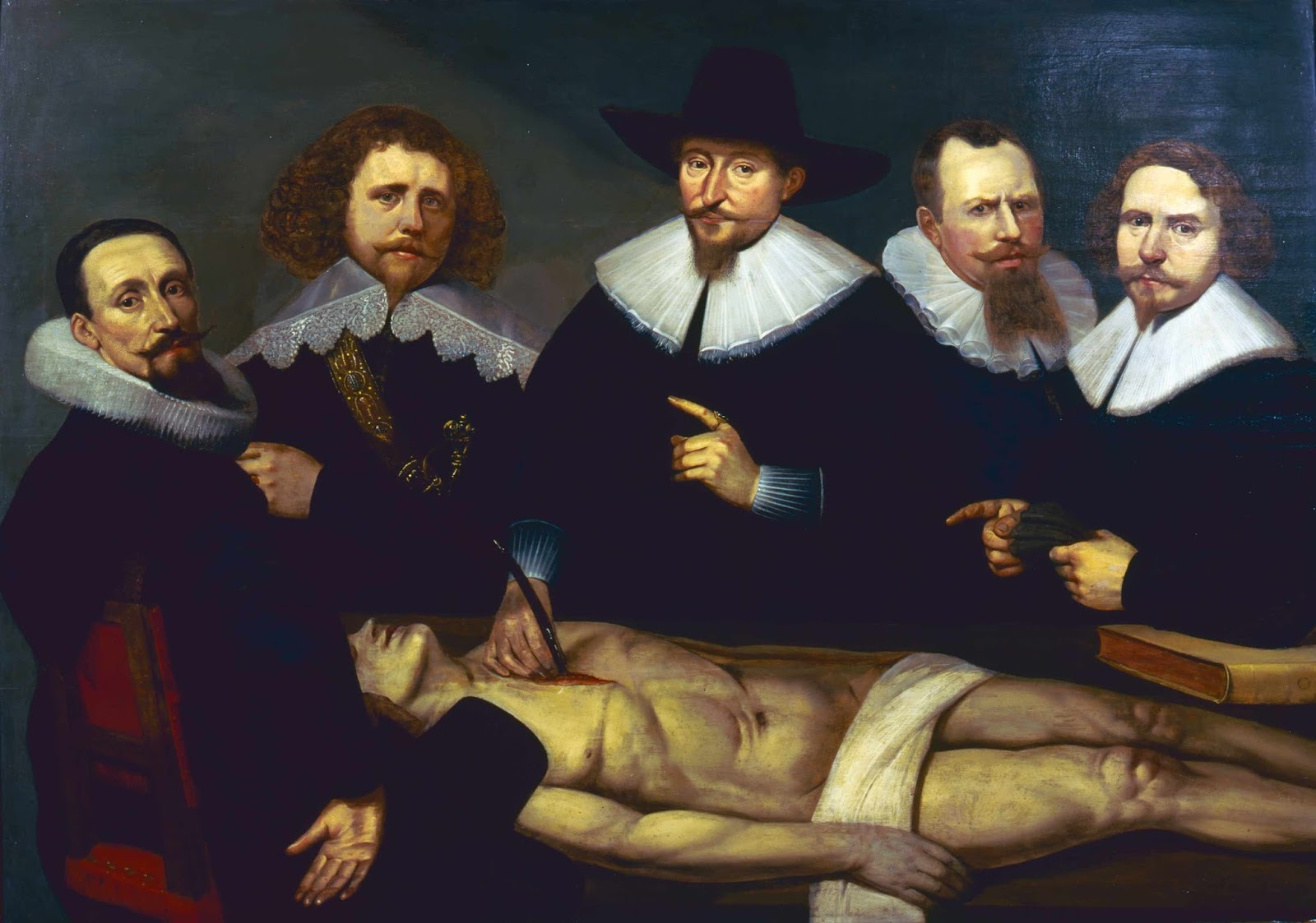 Christiaen Coevershoff: The Anatomy lesson of Dr. Zacheus de Jager ...
