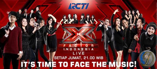 Judul lagu yang dinyanyikan peserta X Factor