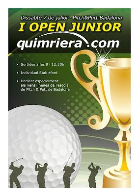 Open Quimriera Junior al P&P Badalona