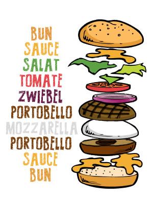 Grilled Portobello-Burger