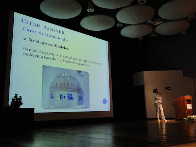 DSC03556 - Dra. Andrea Martinez dá palestra do Clear Aligner na Puc Campinas