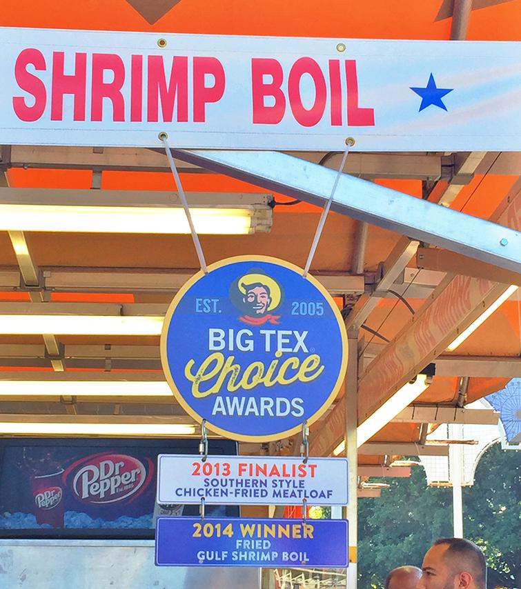state fair of texas fried gulf shrimp boil winner