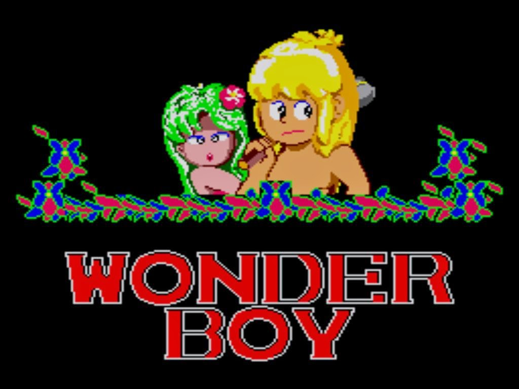 Wonderboy, video del juego completo para Sega Master System