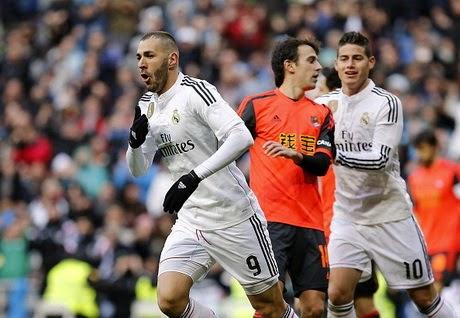 Video Gol Real Madrid vs Sociedad 4-1