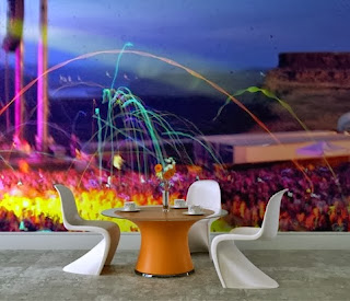 fireworks mural from artistichomeowner.com