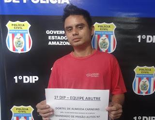 CIDADES - Equipe do 1º DIP recaptura fugitivo do Compaj na zona Sul