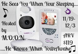 Enter the He Sees You When Your Sleeping Giveaway. Ends 12/3.