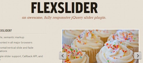 FlexSlider - responsive slider
