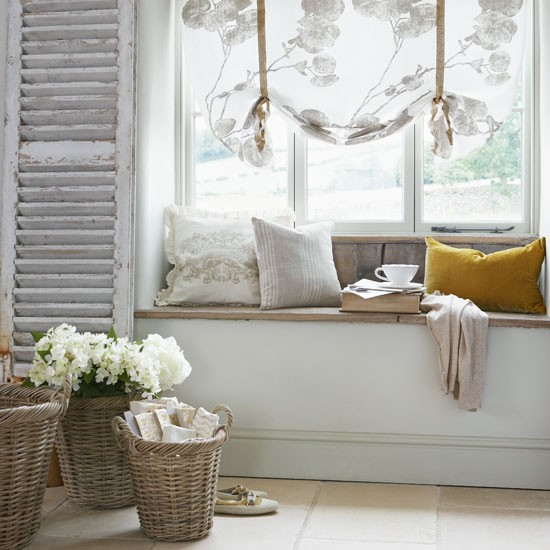 Window Seat Curtain Ideas
