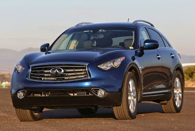 2015 Infiniti QX70 Front View Model