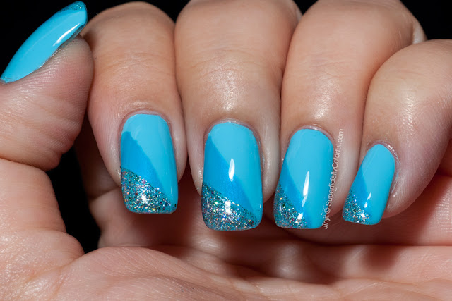 Nail Art Blue Tape Kiko Orly China Glaze