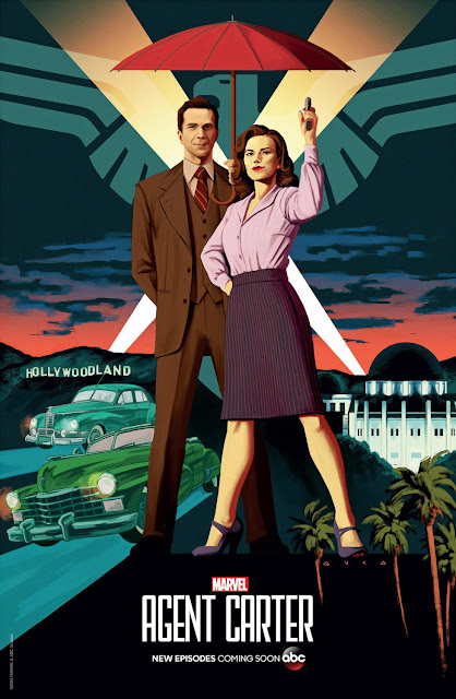 San Diego Comic-Con 2015 First Look - Marvel's Agent Carter Season 2 Teaser Television Poster