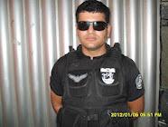 Policial Mancha da ROCAM do 24º BPM de S.C.C