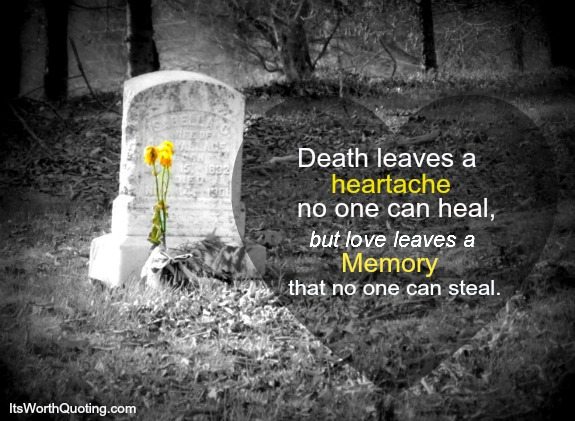 inspirational quotes about a loved one dying