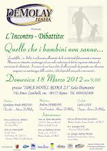 18 MARZO 2012 INCONTRO DIBATTITO