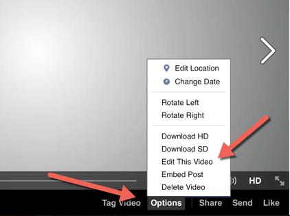 Change Facebook Video Thumbnail : eAskme