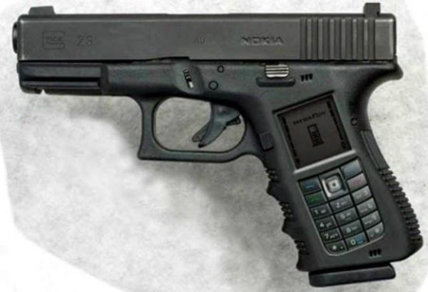 """The """"GUN"""" phone"""