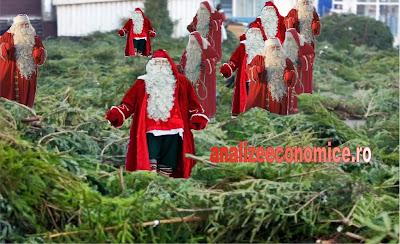 Moș Crăciun ne aduce araci