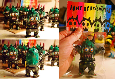 "Design Festa Exclusive ""Army of Brightness"" Ugly Unicorns by Rampage Toys"