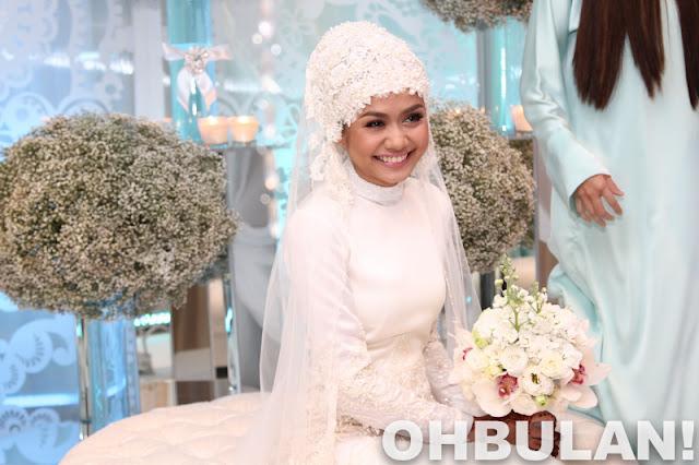 gambar majlis pernikahan liyana jasmay dan fathuddin mazlan, gambar kahwin nikah liyana jasmay fathuddin