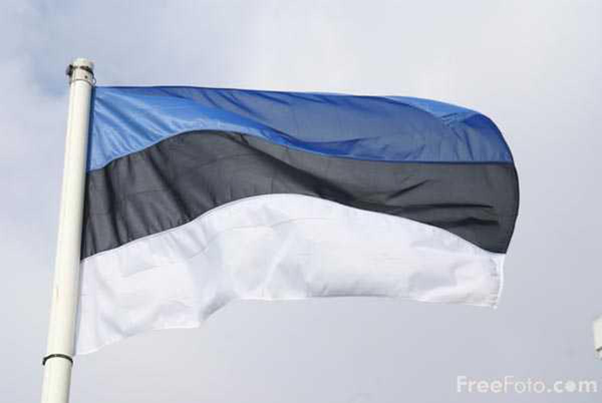 Animated Flag of Estonia | goldoverblu