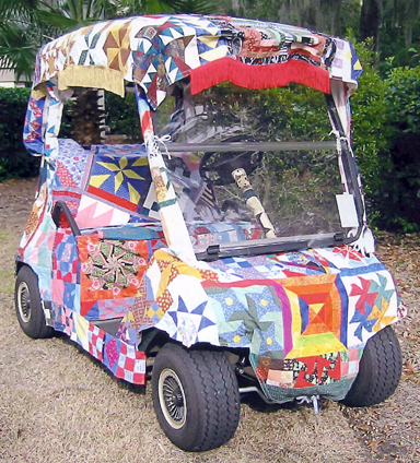 Artdog Observations: Creative Uses for Quilts!