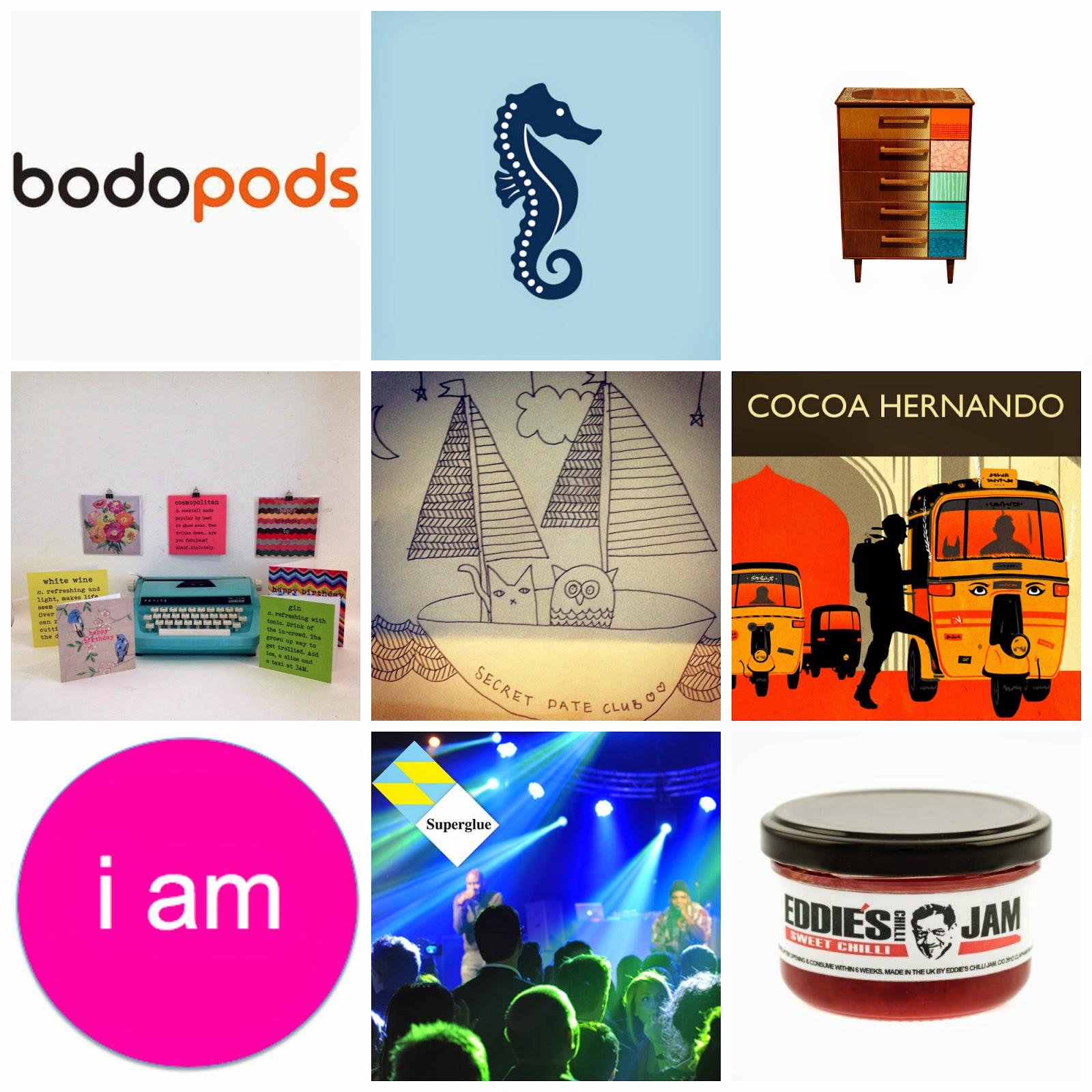 Makegood Festival Brand Collage