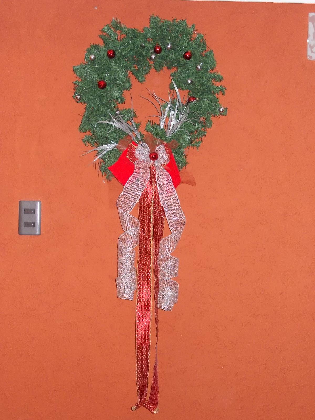 Adornos Y Regalos De Navidad Corona Colgante Adorno