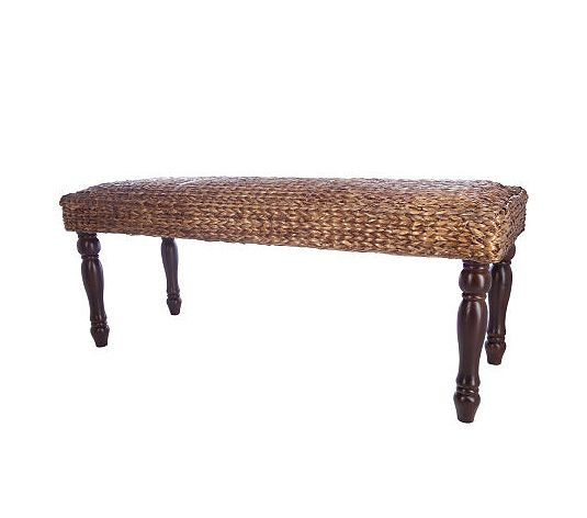 Copy Cat Chic Pottery Barn Seagrass Bench