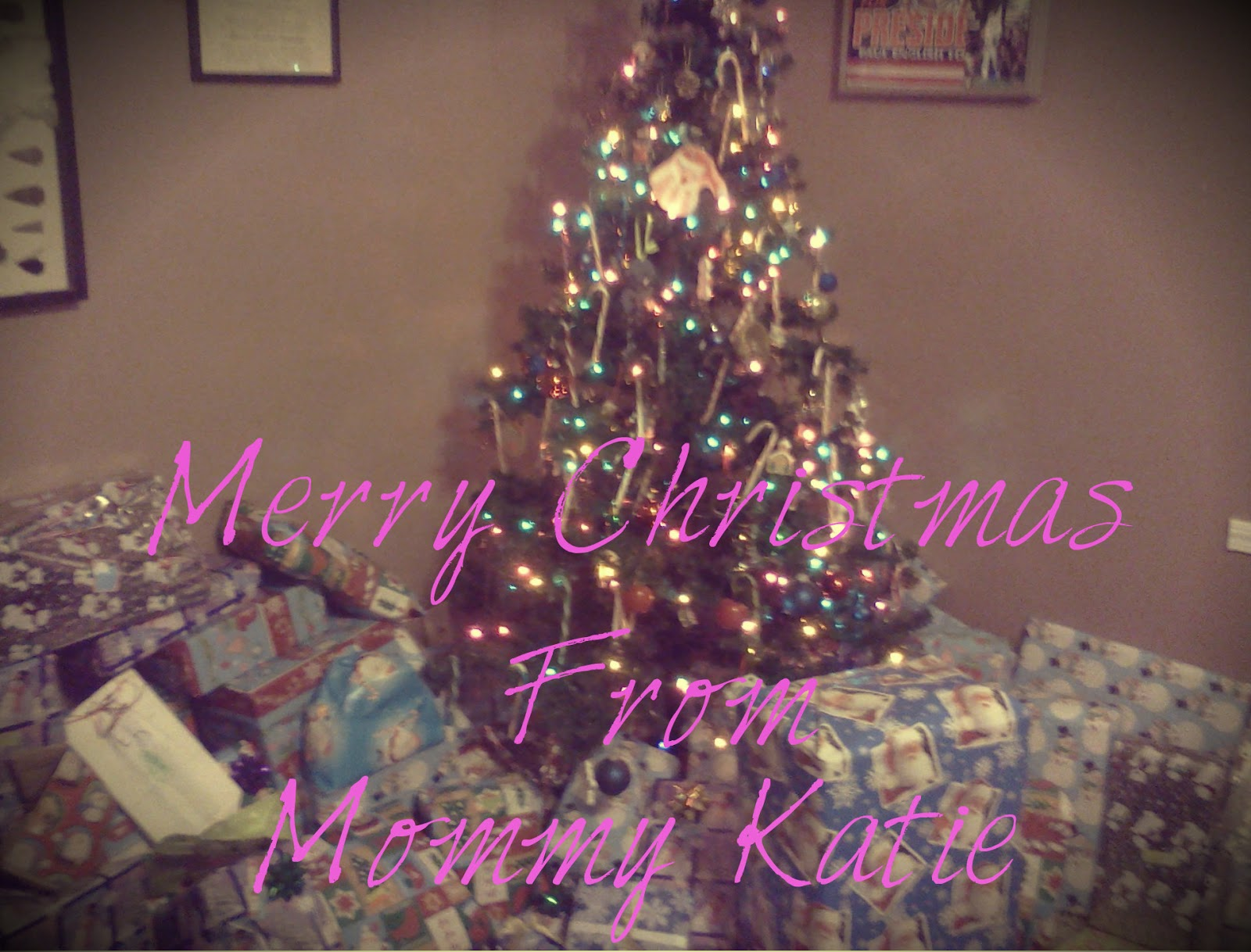 Merry Christmas To All, From Mommy Katie!!