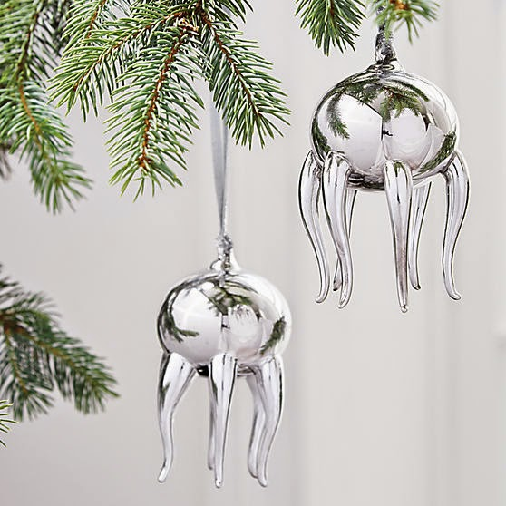 Nautical Ornament of the Week: CB2 Jellyfish