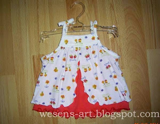 baby dress white-red    wesens-art.blogspot.com