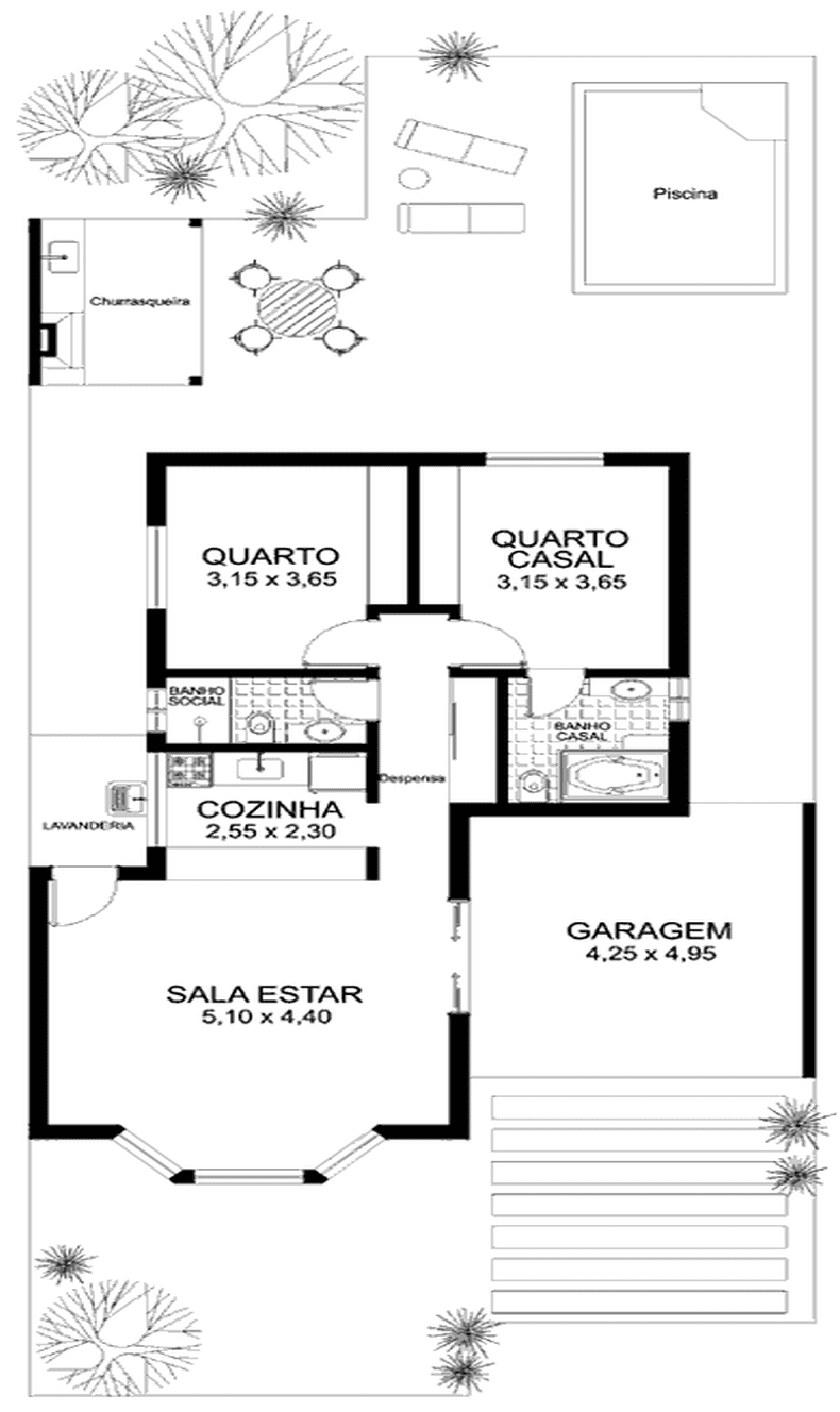 S Projetos Gr Tis Projeto Gratis De Uma Casa Com 80 Metros Quadrados