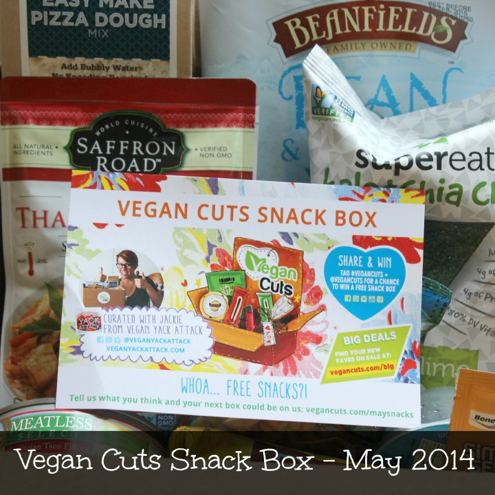 Vegan Cuts Snack Box May 2014 Review Unboxing