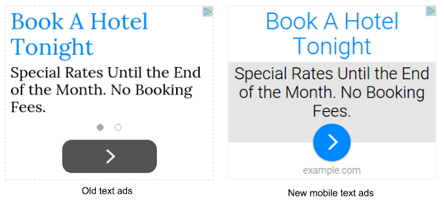 Richer Mobile Text Ads
