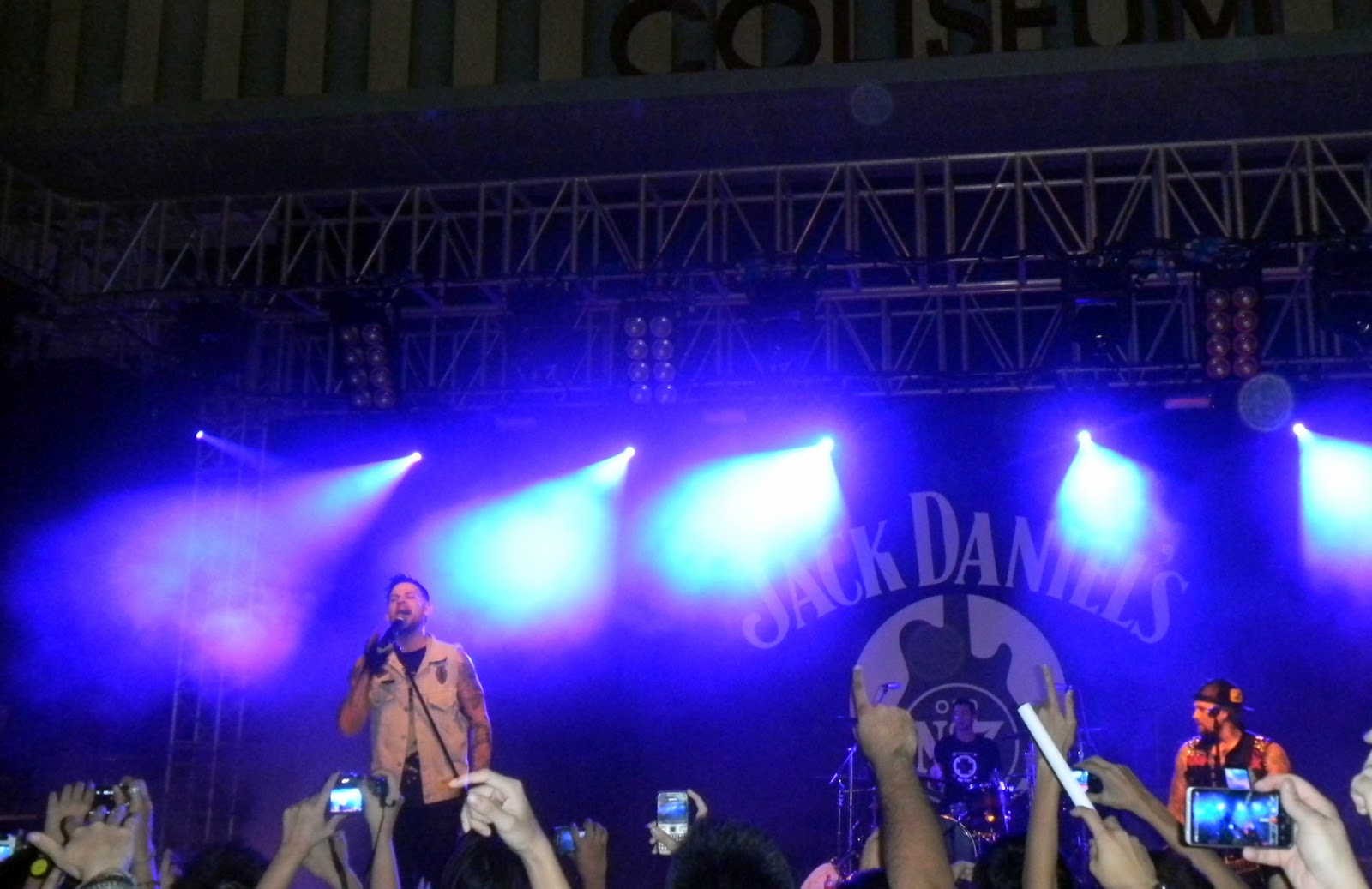 good charlotte live at the coliseum, hard rock hotel (resorts