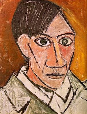 Auto-retrato Pablo picasso