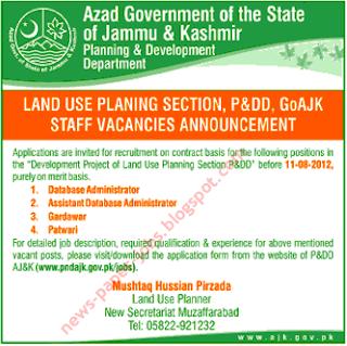 Azad Jammu and Kashmir jobs