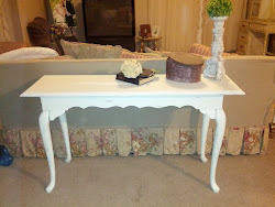 Sofa / entry way table- sold