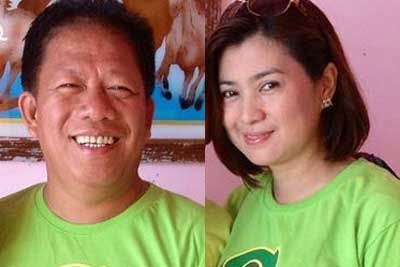 Left: Tito Sarion, Right: Connie Sarion